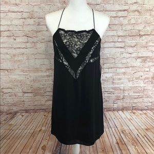 🆕Express, Strapy Lace Keyhole Back Dress Sz S/P